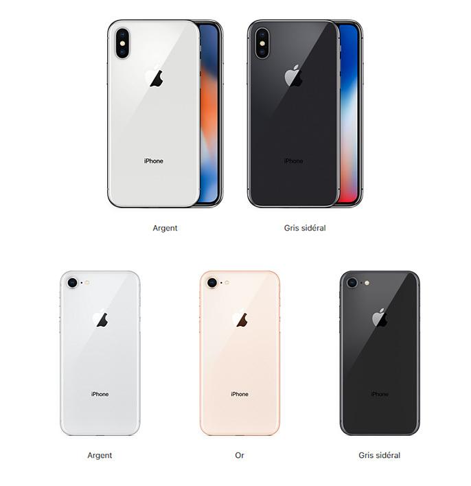 iphone x nuevo color