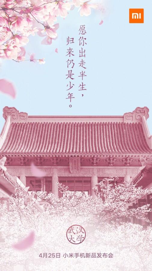 Invitacion al lanzamiento del nuevo XIAOMI MI A2