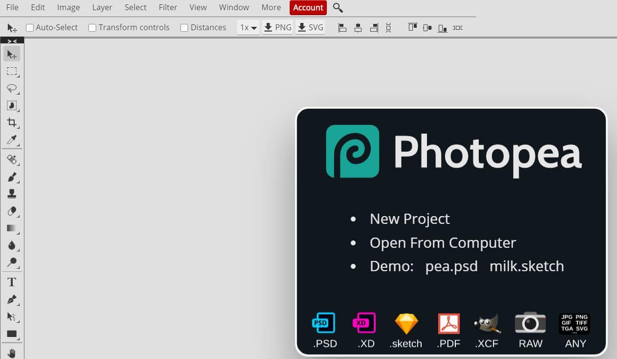 abrir un PSD sin Photoshop