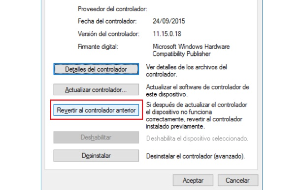 táctil en Windows 10