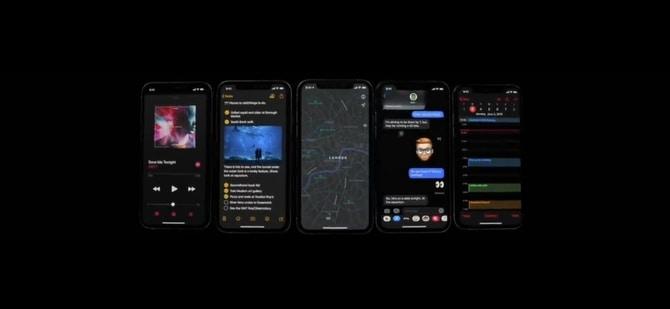 características de iOS 13