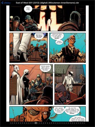 aplicaciones para leer cómics en iPad