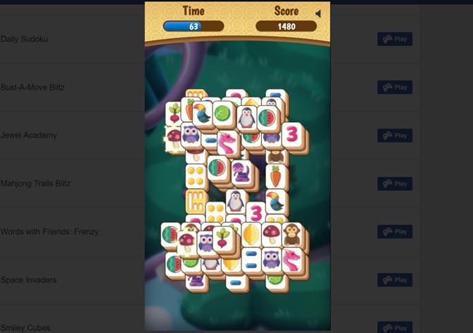 Estos juegos instantáneos de Facebookestán disponibles en la web y dispositivos móviles. Simplemente iniciasesión en Facebook