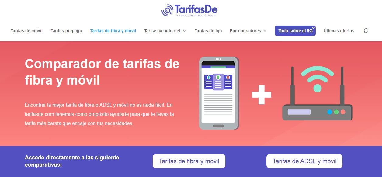 tarifas en internet