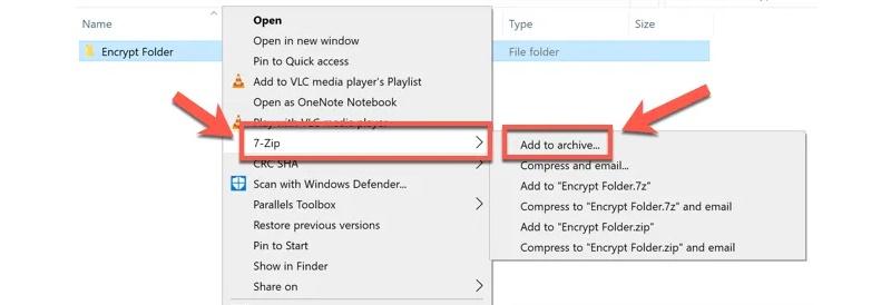 poner contraseña a una carpeta en Windows 10