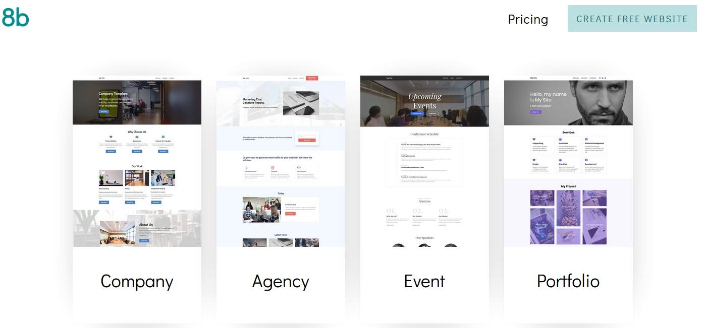Sitios gratis para crear portafolios